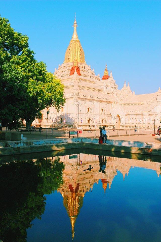 ミャンマー アーナンダ寺院