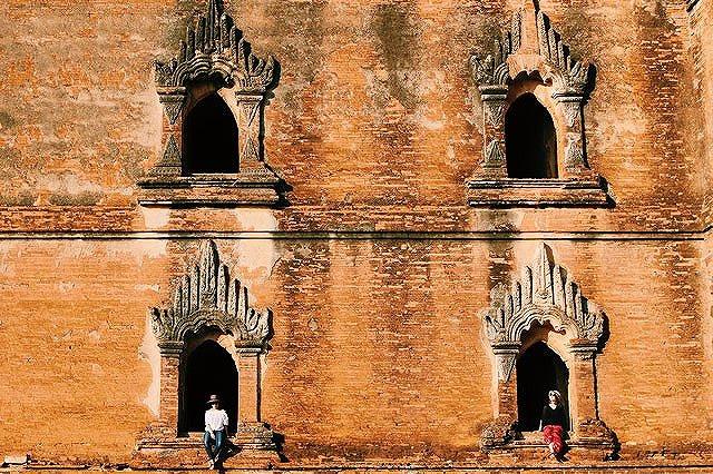 ミャンマー ダマヤンジー寺院