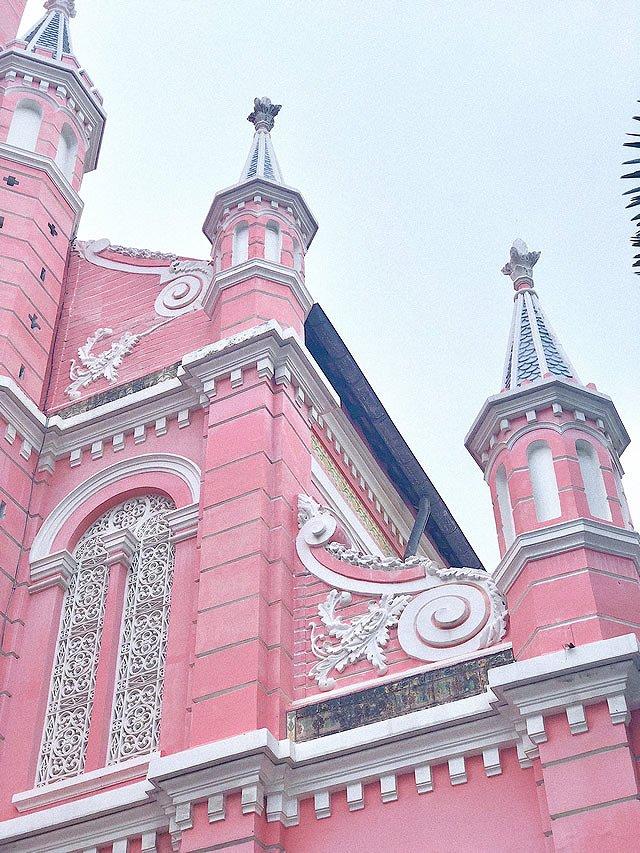 ベトナム・ホーチミン タンディン教会