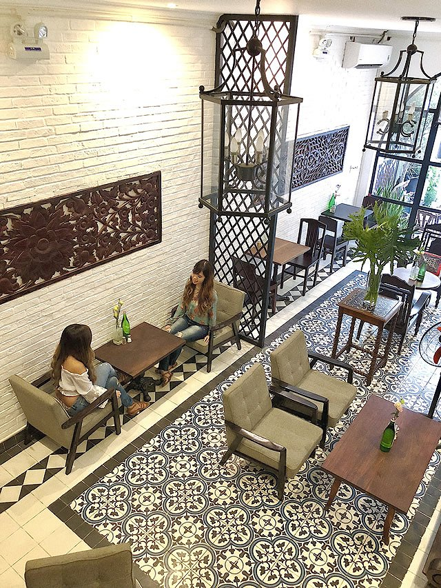 ベトナム・ホーチミン カフェ「the vintage emporium」
