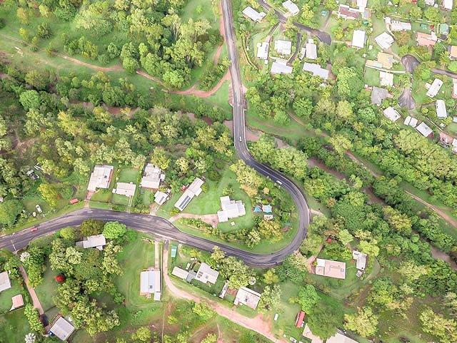 オーストラリア・ケアンズ 熱気球での空中散歩