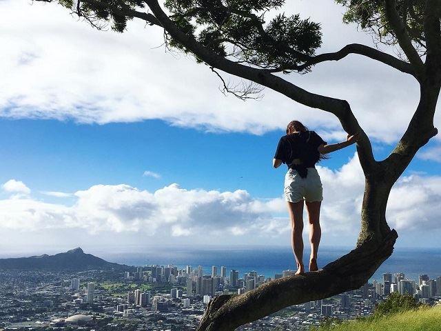 オアフ島 タンタラスの丘