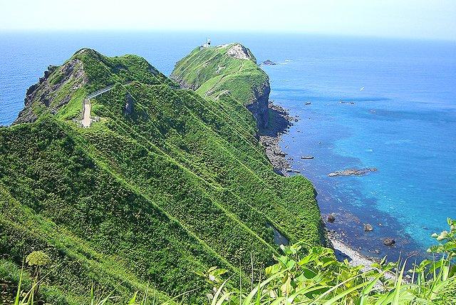 北海道 積丹半島 神威岬