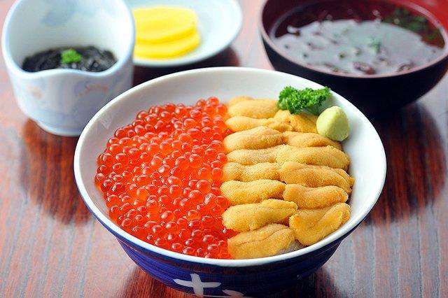北海道 積丹名物ウニ丼