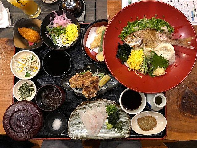 愛媛県のご当地グルメ 郷土料理満喫御膳