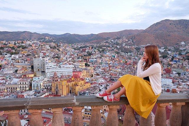 メキシコ グアナファト ピピラの丘