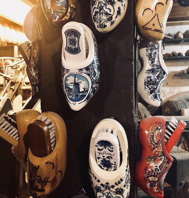 オランダ 木靴の工場