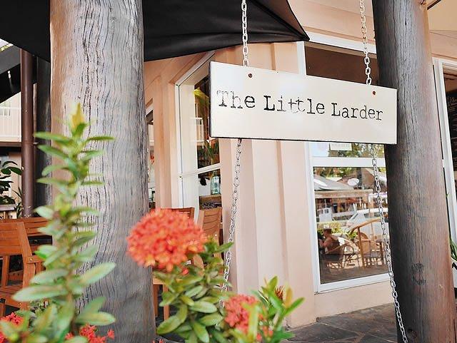 オーストラリア ポートダグラス カフェ 「the little larder 」