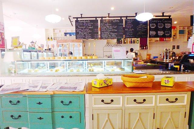 サイパン フォトスポット「SUNSHINE CAFE」店内