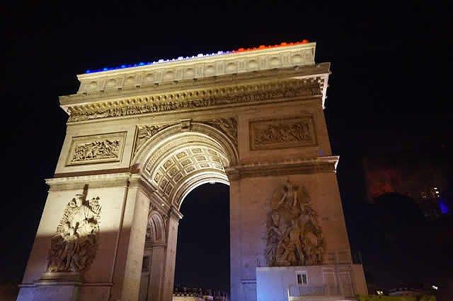フランス・パリ 凱旋門
