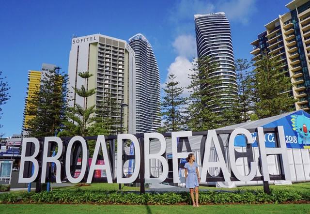 オーストラリア ゴールドコースト ブロードビーチ