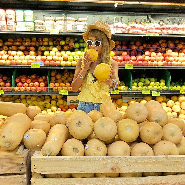 マウイ島 パイアの街 スーパーMana Foods