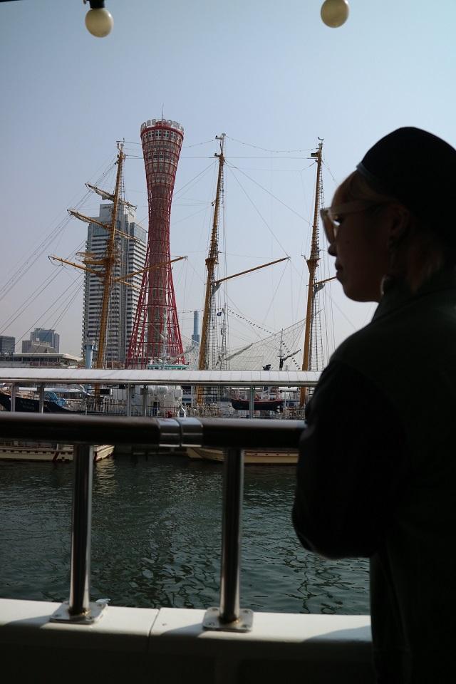 神戸港 クルージング