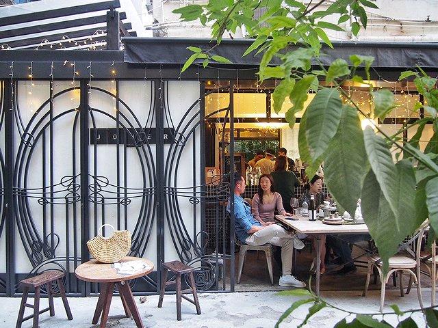 香港 カフェ「Jouer」