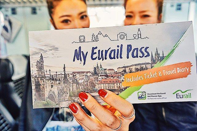 ヨーロッパ周遊ツアー ユーレイルパス
