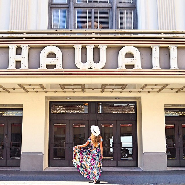 ハワイ Hawaii Theater