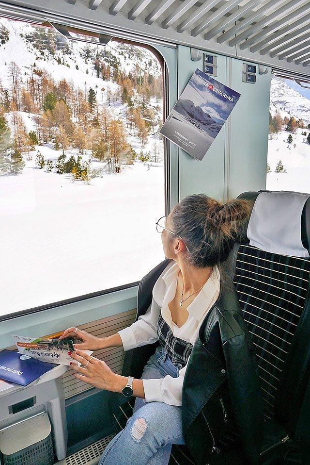 ヨーロッパ周遊ツアー 車窓からの景色