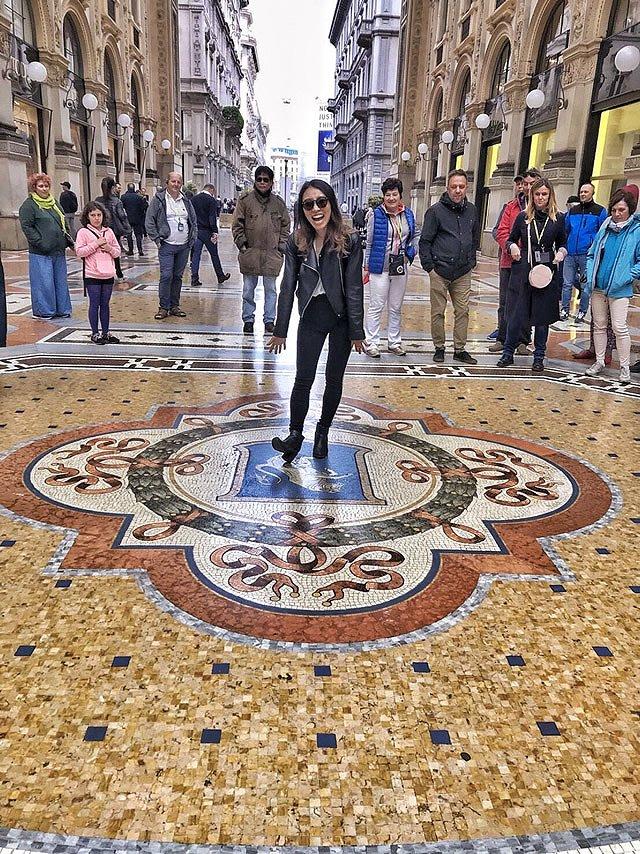 ヨーロッパ周遊ツアー イタリア・ミラノ Galleria