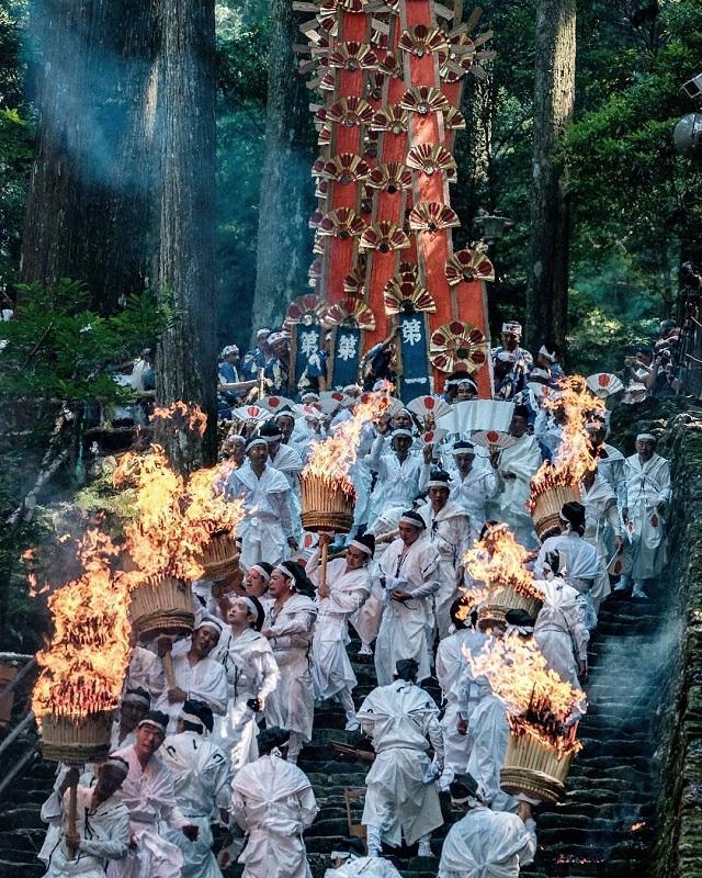 熊野那智大社・那智の扇祭り