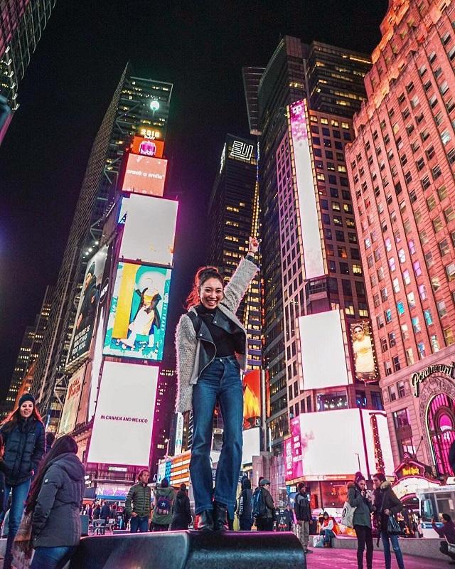 アメリカ タイムズスクエア