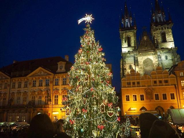 12月の旅 チェコ プラハ 旧市街広場