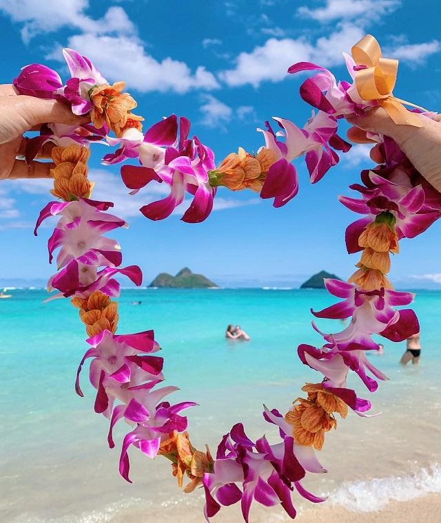 ハワイ Lanikai Beach