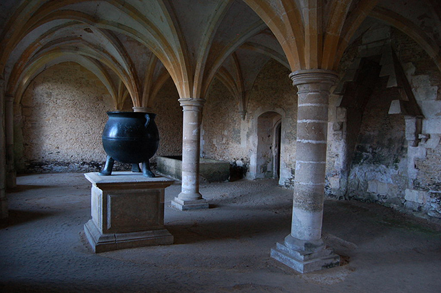 Lacock Abbey warming room