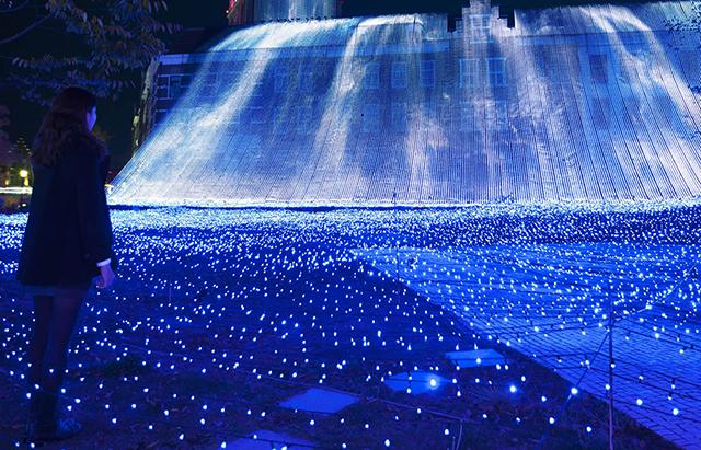 光の王国_光の滝