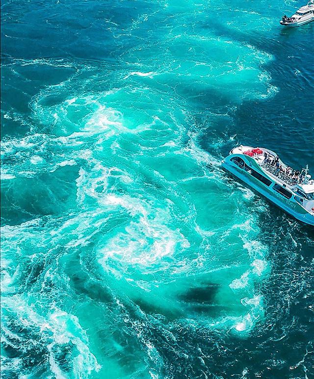 鳴門海峡 渦の道